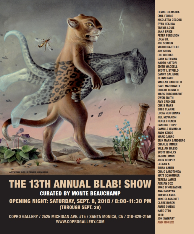 13th annual BLAB SHOW ad